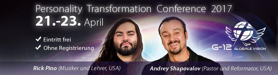 """Konferenz """"Transformation der Persönlichkeit"""" 2017"""