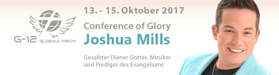 Konferenz Joshua Mills – Oktober 2017