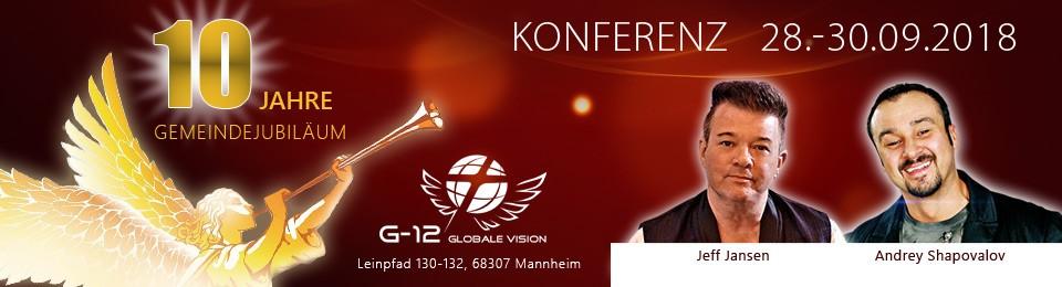 Jubiläumskonferenz 28.-30.09.18