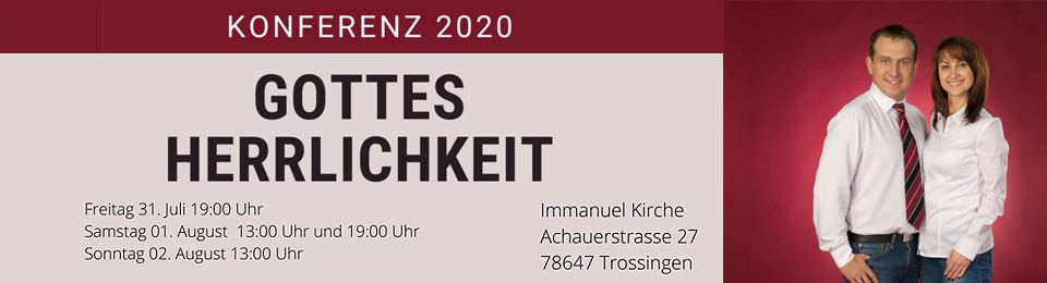 Конференция Trossingen 2020